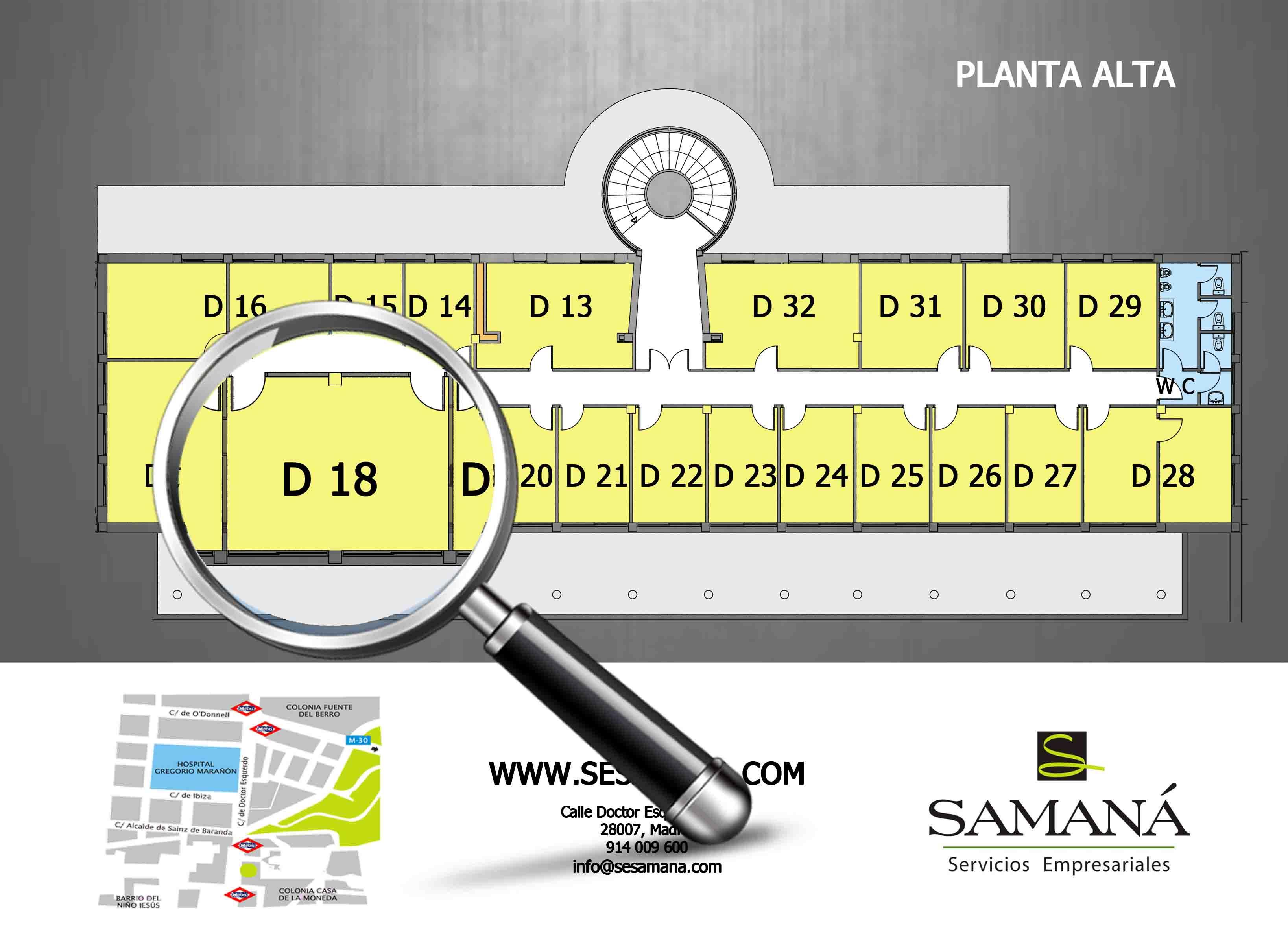 Z:#ABIERTOSEJECUTIVA SAMANAOFICINAS DOCTOR ESQUERDO 105EJECU